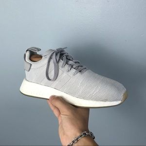 adidas nmd r2 gray sneakers